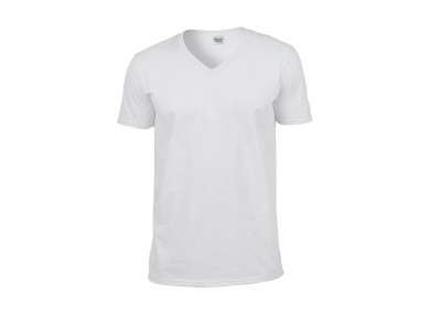 T-shirt v-neck Softstyle Gildan